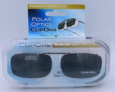 ca2558a59cc9f Polar Optics Clip Ons premium Polarized glasses lenses cover W  Case 50 Rec  15