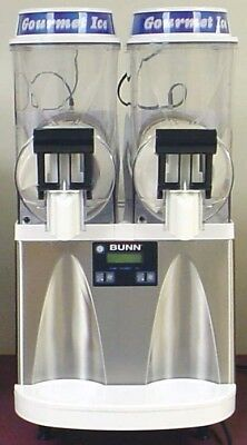 Bunn Ultra 2 Stainless/White Margarita Slushie Frozen drink Maker Machine