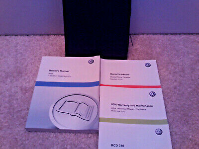 2015 VOLKSWAGEN VW JETTA Owner's owners Manual ! Case plus