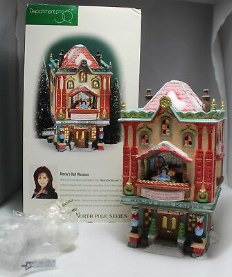 Department 56 Marie's Doll Museum North Pole Series #56408 NEW