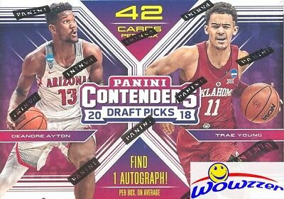 2018/19 Panini Contenders Draft Picks Basketball Sealed Blaster Box-AUTOGRAPH!