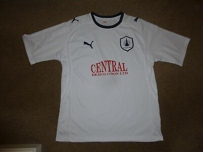 Falkirk Football Shirt Adult Large Official Puma Good Used Condition