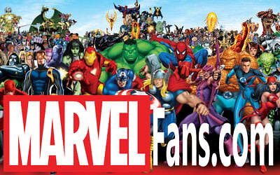 Marvel Fans Dot com Premium 2 Word old Aged Godaddy Website Domain Name for Sale