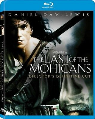 THE LAST OF THE MOHICANS New Blu-ray 1992 Director's Cut Daniel Day-Lewis