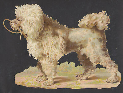 S6720 Victorian Die Cut Scraps: V Large Dog