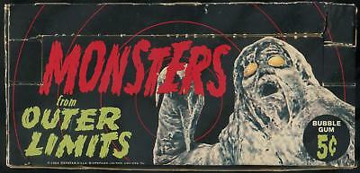1964 Topps Monsters From Outer Limits 5-Cent Display Box