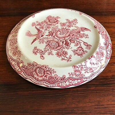 Crown Ducal England Bristol in Red - Vintage Coasters for Tea Coffee Pot