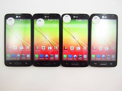 Lot of 4 LG Optimus L70 D321 Cricket Check IMEI Grade B 5-697
