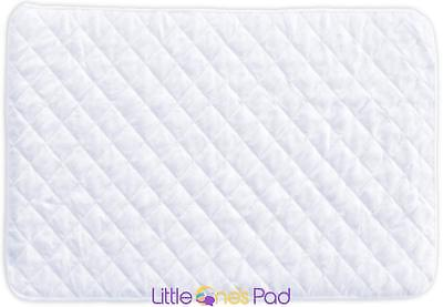 Little One's Pad Pack N Play Crib Mattress Cover Fits ALL Baby Portable Cribs
