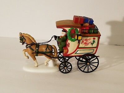 Dept 56 Lord & Taylor Delivery Wagon 1998