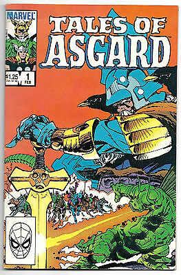 The Mighty Thor - Tales of Asgard #1 - by Stan Lee & Jack Kirby