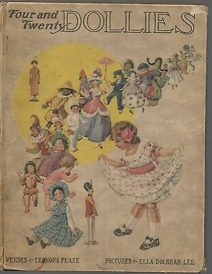 Super Rare! 1914 Four & Twenty Dollies Hamming Whitman Pease & Lee 92 Pages!!!!!