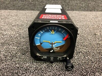 4300-431 Mid-Continent Attitude Indicator W/ Rechargeable Battery (Volts: 10-32)