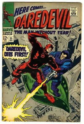 Daredevil #35 (1967) VF- New Marvel Silver Bronze Collection
