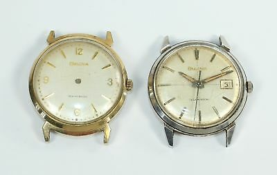 LOT of TWO VINTAGE BULOVA WRISTWATCHES - PARTS/REPAIR - BR1389