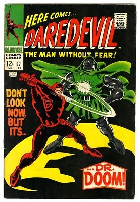 Daredevil #37 (1968) VF- New Marvel Silver Bronze Collection