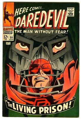Daredevil #38 (1968) F/VF New Marvel Silver Bronze Collection