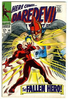 Daredevil #40 (1968) Fine New Marvel Silver Bronze Collection