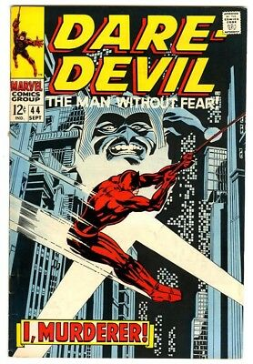 Daredevil #44 (1968) VF- New Marvel Silver Bronze Collection