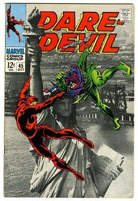 Daredevil #45 (1968) VF New Marvel Silver Bronze Collection