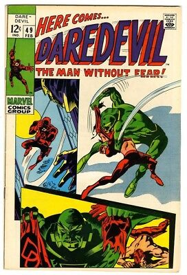 Daredevil #49 (1969) VF+ New Marvel Silver Bronze Collection