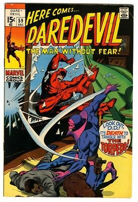 Daredevil #59 (1969) F/VF New Marvel Silver Bronze Collection