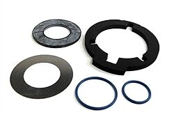 Fuel Tank Gasket Set BMW K, Hexheads,F&G Bikes;16 11 9 062 461,FT-GasketKit461