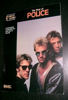 The Best Of The Police - Guitar Book With Notes And Tab