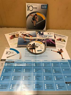 Tony Horton 10 Minute Trainer Excuse Busting Workout Dvd Exercise Fitness New