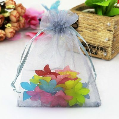Multi-color Wedding Party Christmas Present Pouch Bag Organza Jewelry Collection