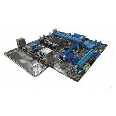 ASUS P8H61-M REV 1 01 LGA 1155 DDR3 uATX Motherboard with I/O Shield
