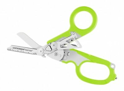 Leatherman RAPTOR Medical Shears with emergency tools NEW Green