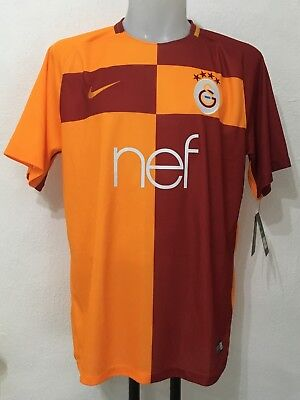 Galatasaray 2017/18 S/s Home Shirt By Nike Size Adults Xl Brand New With Tags