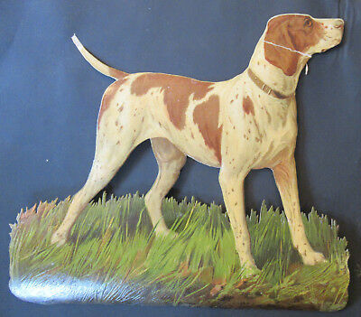 S6820 Victorian Die Cut Scraps: Huge Dog
