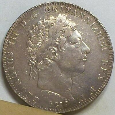 Great Britain Crown 1819 F/Very Fine NO RESERVE