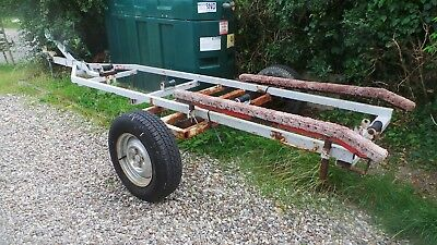 16Ft Boat Trailer Requires Some Refurbishing