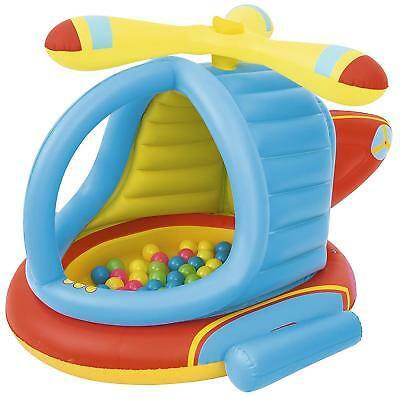 Bestway Helicopter Ball Pit gonfiabile per bambini, include 50?palline