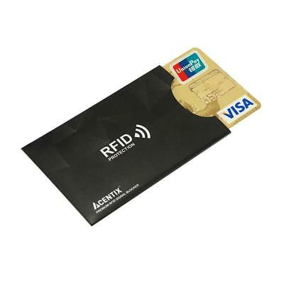 Contactless Payment Credit Card Shield Blocker RFID Blocking  Protection Sleeve