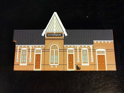 Cats Meow Village Gaithersburg Train Station Maryland 1995 RARE
