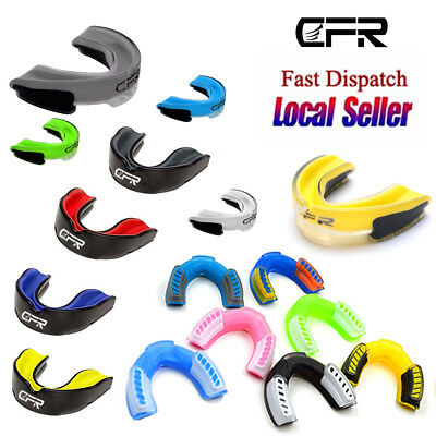Gel Gum Shield Mouth Guard Kids Junior MMA Impact Boxing Rugby Teeth Protection