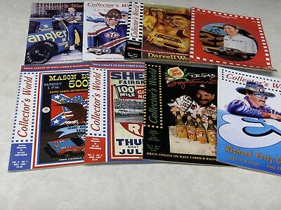 Estate Sale Lot Of 12 + 1 Issues 1992 Nascar Collectors World Magazines Lot #104