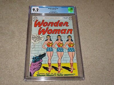 Wonder Woman #62 Pizza Hut Collector's Edition CGC 9.2 1977 DC White Pages