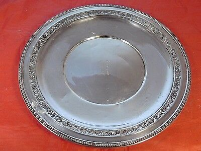 Vintage Wallace Sterling Silver Platter / Tray #l112