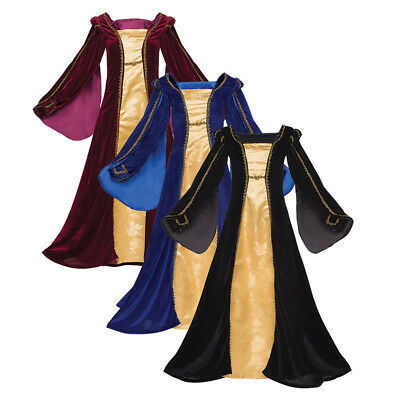 Renaissance Dress Layered Luxury Medieval Renfaire Costume Royal Victorian Gown