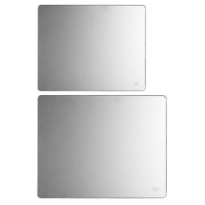 Xiaomi Mi Slim Aluminum + Silicon Mouse Pad PC Laptop Metal Gaming Mouse Ma #F8s