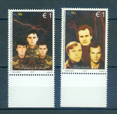 Kosovo 2012 Freedom Fighters  Mnh Very Fine