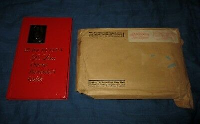 OLD MR. BOSTON DE LUXE OFFICIAL BARTENDER'S GUIDE-1963 BOOK w MAILING ENVELOPE