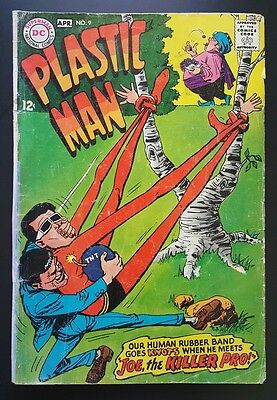 Plastic Man #9 - Joe, the Killer Pro -  (Mar-Apr 1968, DC) - GD