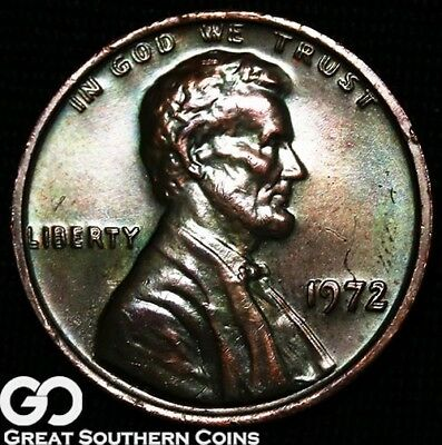 1972/72 LINCOLN CENT Memorial Penny, Doubled Die, Gem BU++ Key Date ERROR!