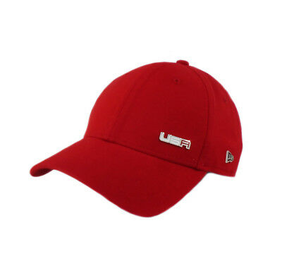 NEW 2018 New Era Captain 9Forty USA Ryder Cup Sunday Round Adjustable Hat  Cap fdb691503e8b